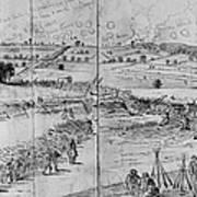 Gettysburg, 1863 Art Print