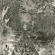 Grants Canal, 1862 Art Print by Photo Researchers