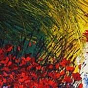 Grass Art Print by Shilpi Singh