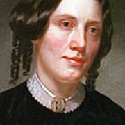 Harriet Beecher Stowe, American Art Print by Photo Researchers