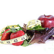 Healthy Diet Print by Photo Researchers, Inc.