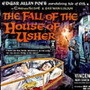 House Of Usher, Aka The Fall Of The Art Print by Everett