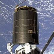 Intelsat Vi, A Communication Satellite Art Print