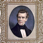 James Polk, 11th American President Print by Photo Researchers