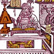 John Peckham, Anglican Theologian Art Print