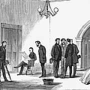 Johnson Impeachment Trial Art Print