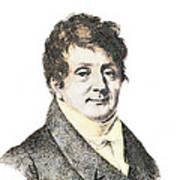 Joseph Fourier, French Mathematician Art Print