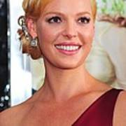 Katherine Heigl At Arrivals For Life As Art Print