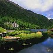 Kylemore Abbey, Co Galway, Ireland Art Print by The Irish Image Collection
