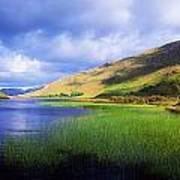 Kylemore Lake, Co Galway, Ireland Lake Art Print by The Irish Image Collection