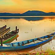 Lak Lake Art Print
