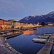 Lake Maggiore - Ascona Art Print