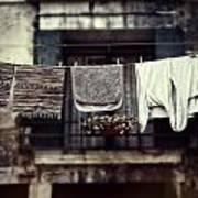 Laundry Art Print by Joana Kruse