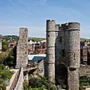 Lewes Castle Art Print