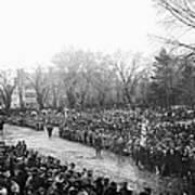 Lincolns Inauguration Art Print