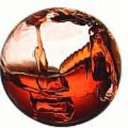 Liquid Sphere Art Print