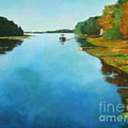 Little River Gloucester Art Print