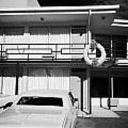 Lorraine Hotel Site Of The Murder Of Martin Luther King Now The National Civil Rights Museum Memphis Art Print