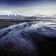 Low Tide Art Print