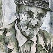 Man Portrait Art Print by Odon Czintos