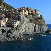 Manarola Print by Barbara Walsh
