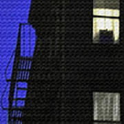 Manhattan After Dark Art Print