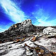 Mount Kinabalu Art Print