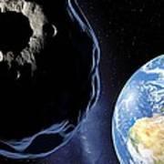 Near-earth Asteroid, Artwork Art Print