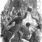 New York: Astor Place Riot Art Print