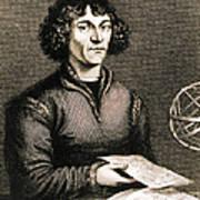 Nicolaus Copernicus, Polish Astronomer Art Print by Science Source