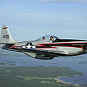 North American P-51 Cavalier Mustang Art Print
