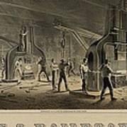 Paterson Iron Company Print by Everett