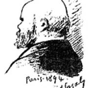 Paul Verlaine (1844-1896) Art Print