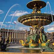 Place De La Concorde Art Print