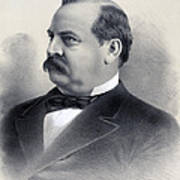 President Grover Cleveland Art Print by International  Images