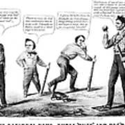 Presidential Campaign, 1860 Art Print