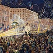 Presidential Campaign: 1876 Art Print