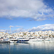 Puerto Banus In Spain Art Print