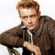 Rebel Without A Cause, James Dean, 1955 Art Print