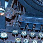 Remington 11 Detail Art Print
