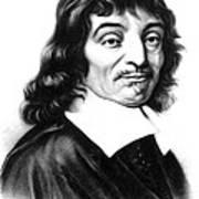 Ren� Descartes, French Polymath Art Print