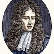 Robert Boyle, Irish Chemist Art Print
