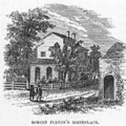 Robert Fulton (1765-1815) Art Print