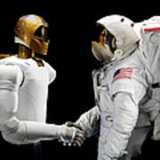 Robonaut 2, A Dexterous, Humanoid Art Print by Stocktrek Images