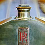 Rolls-royce Hood Ornament Art Print