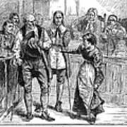 Salem Witch Trial, 1692 Art Print