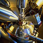 Scanning Electron Microscope Art Print