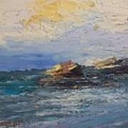 Sea Rocks Art Print by George Siaba