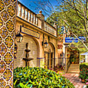 Sedona Tlaquepaque Shopping Center Art Print