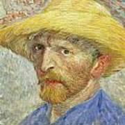 Self Portrait Art Print by Vincent van Gogh